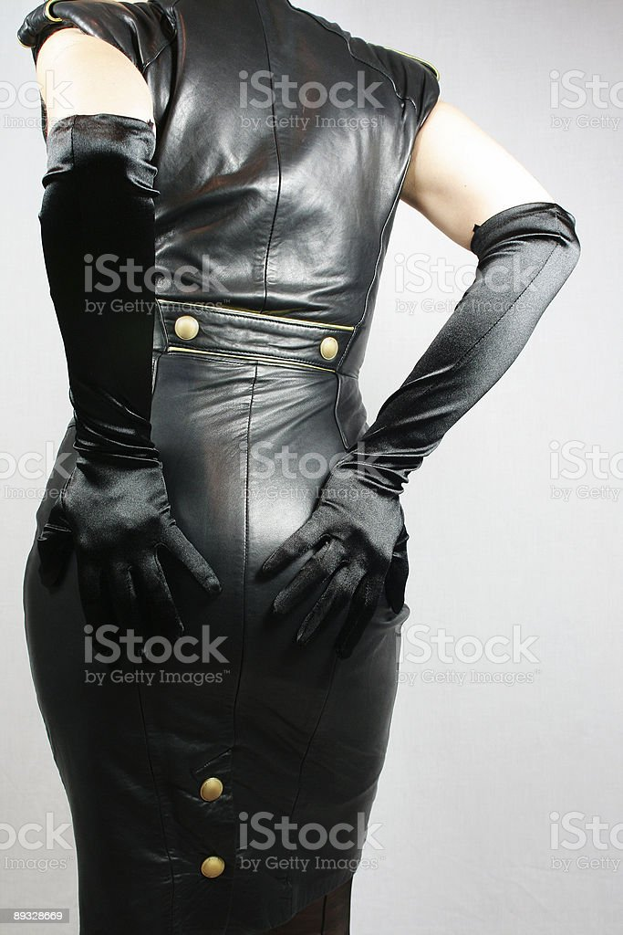 Leather Dress royalty-free stock photo
