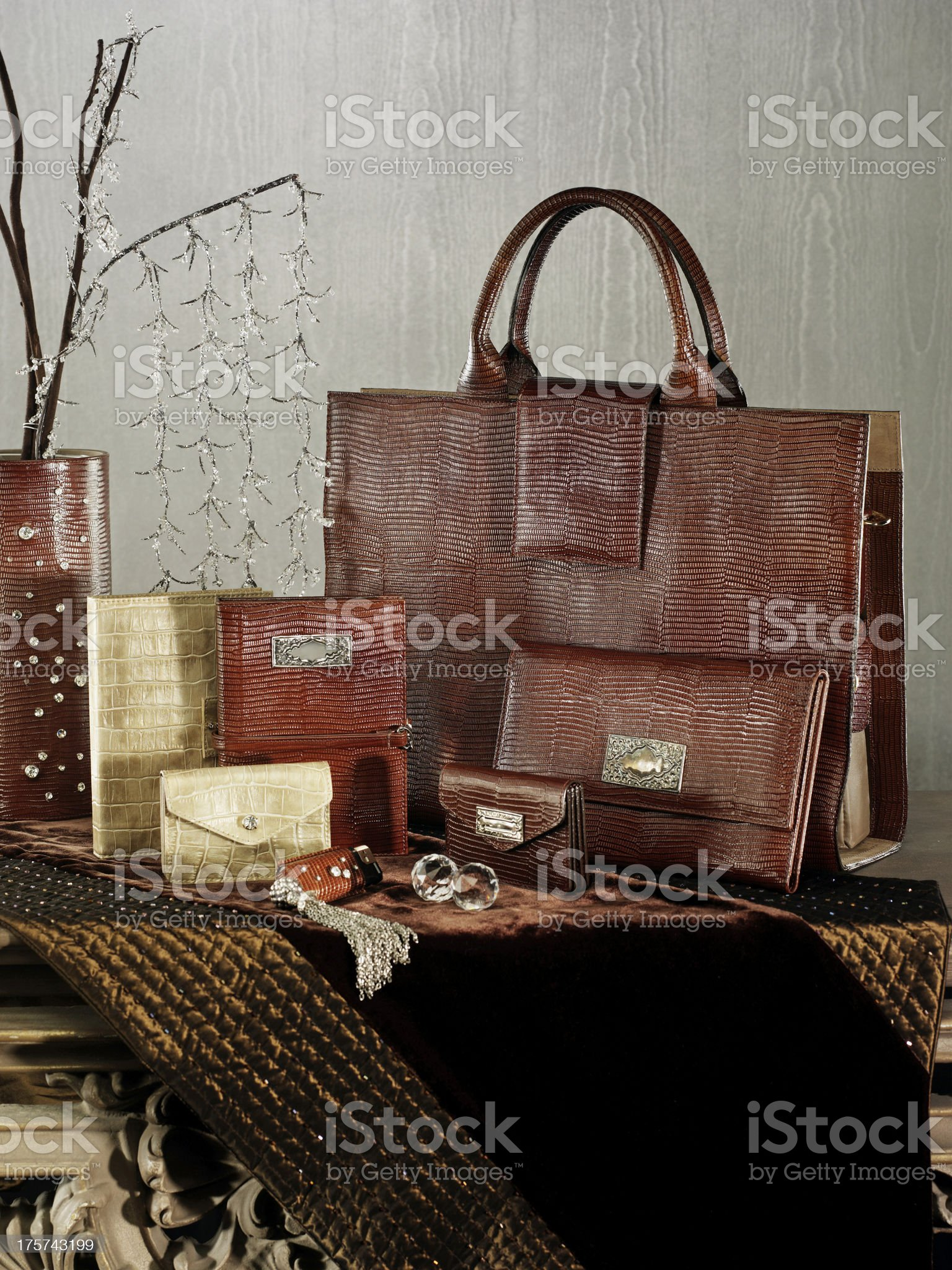 leather gifts royalty-free stock photo