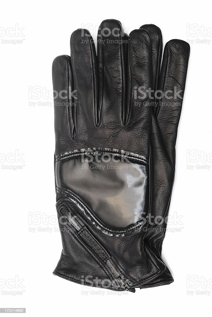 Leather Glove royalty-free stock photo