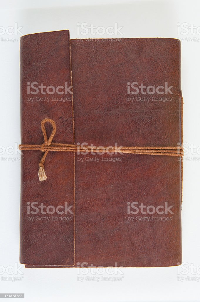 Leather Journal stock photo