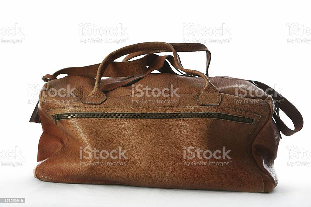 leather luggage royalty-free stock photo