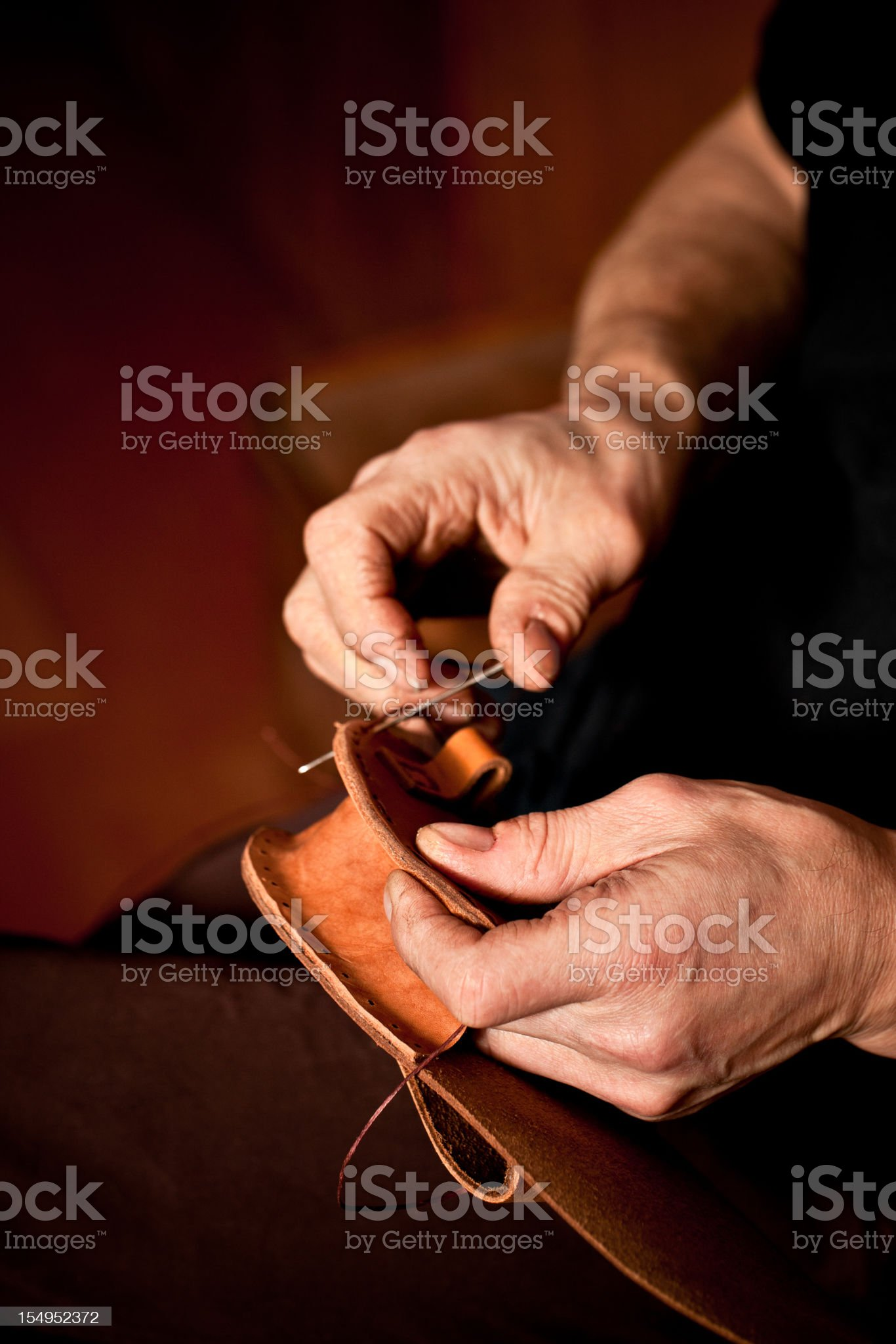 Leather manufacture royalty-free stock photo