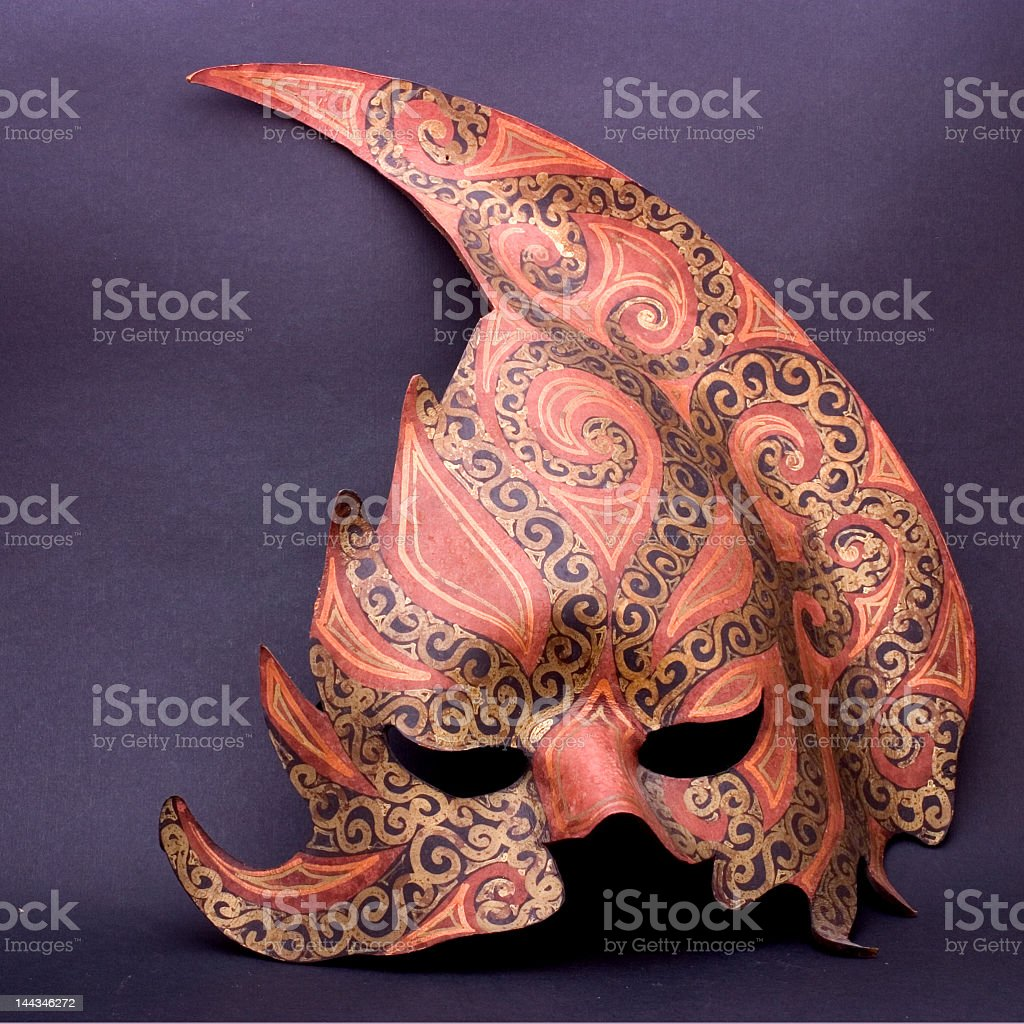 Leather mask royalty-free stock photo