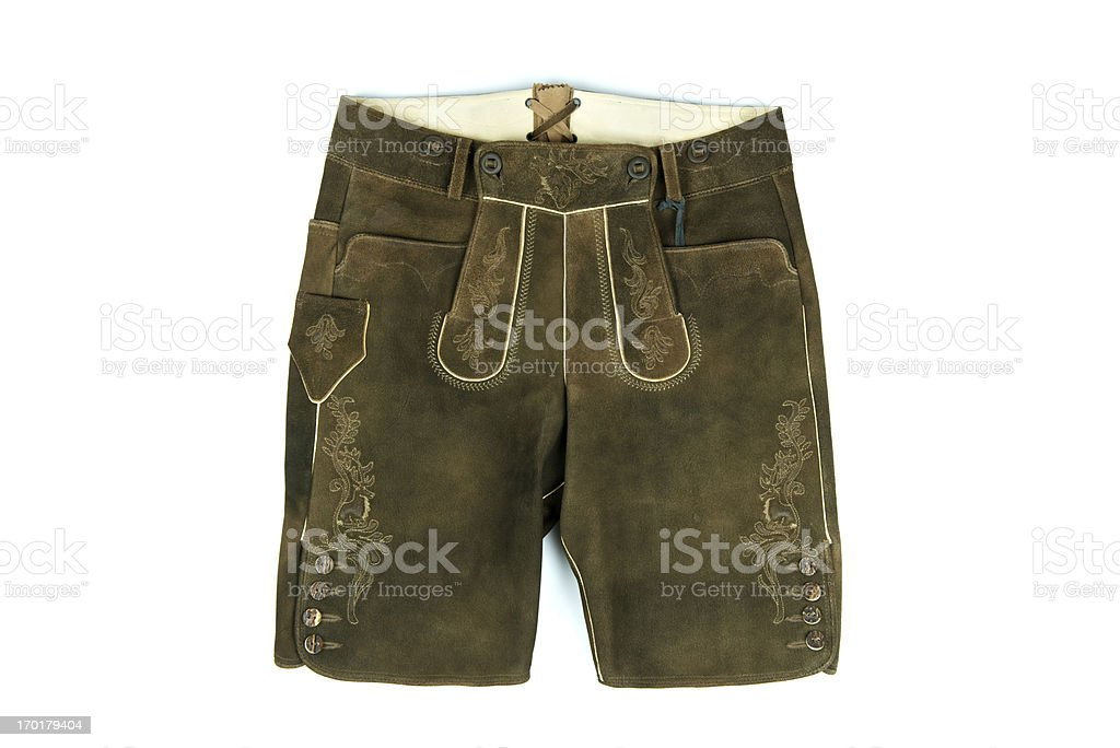 Lederhosen stock photo