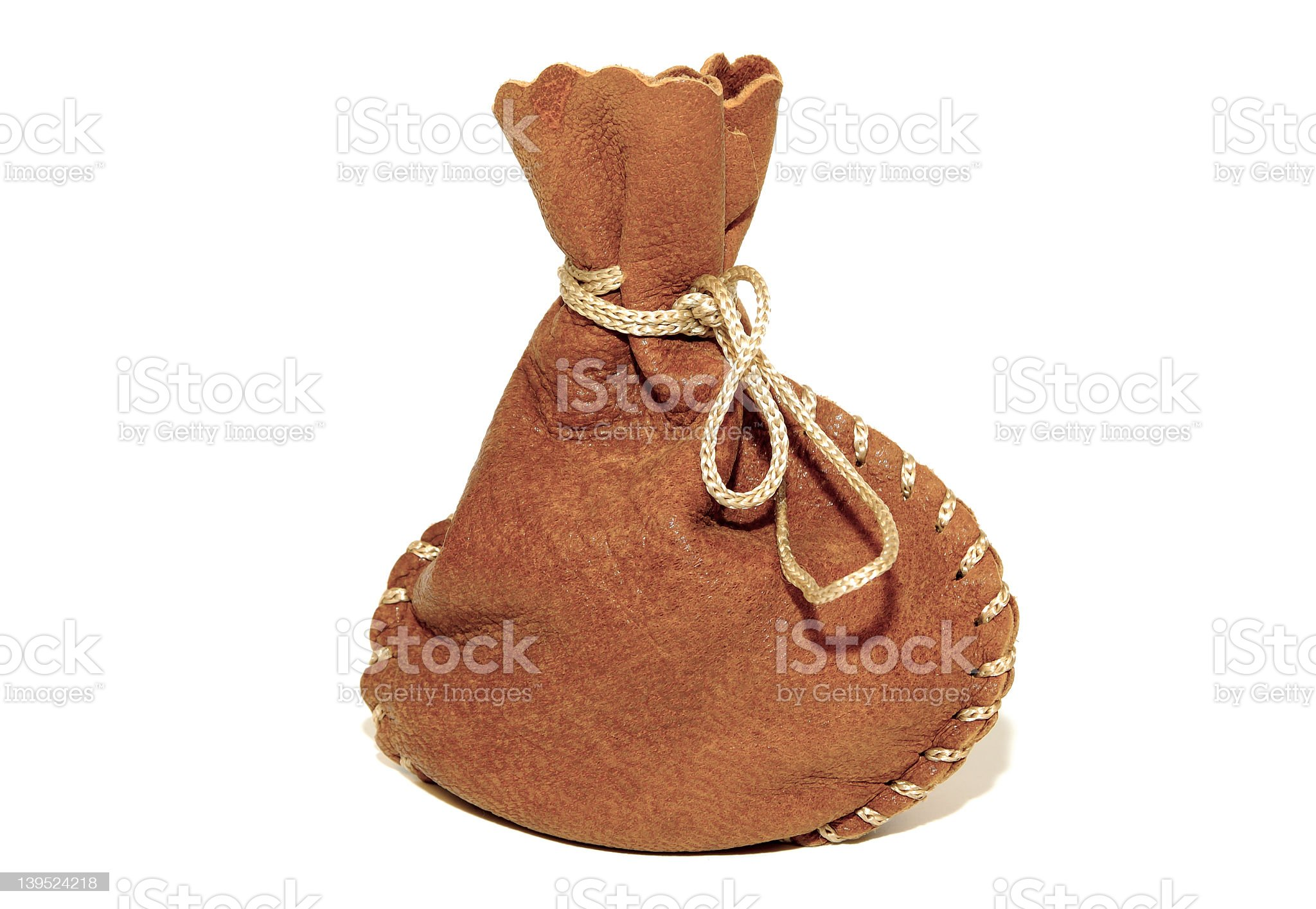 Leather Pouch royalty-free stock photo