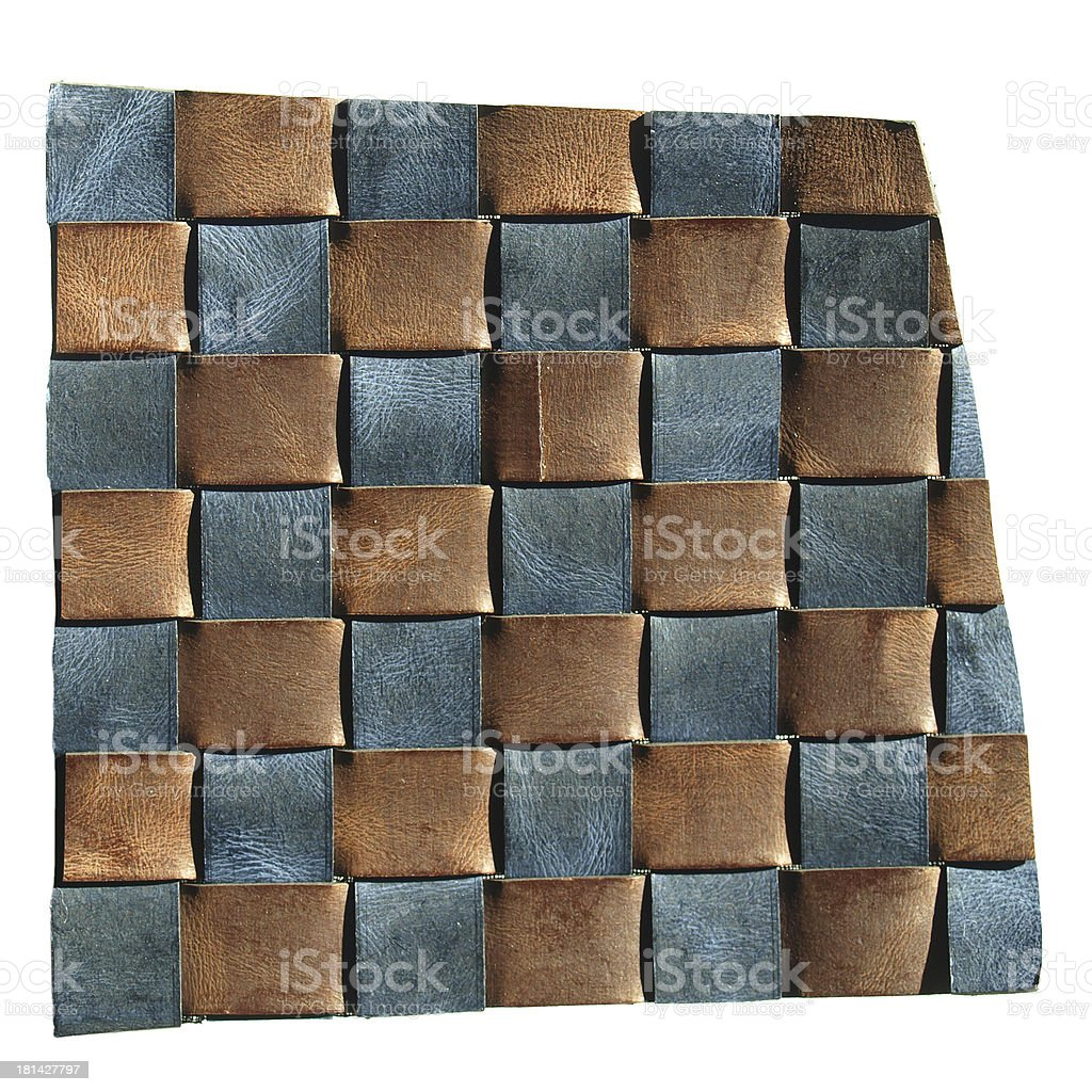 Leather sample royalty-free stock photo