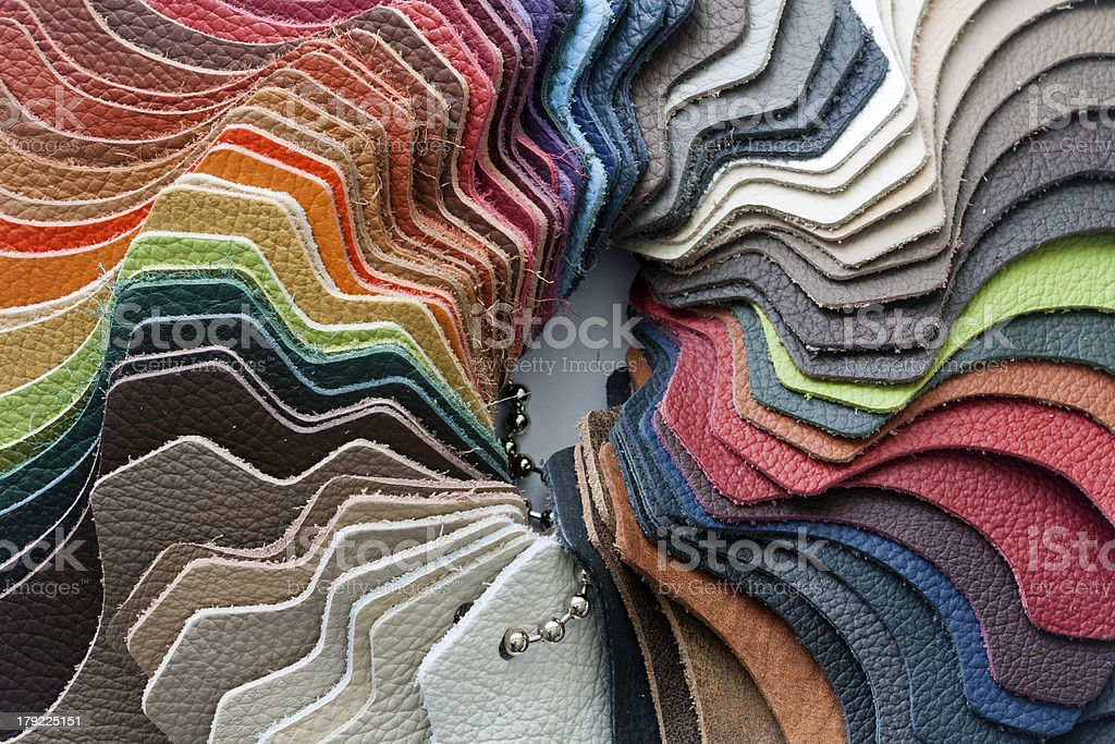 leather sample1 royalty-free stock photo