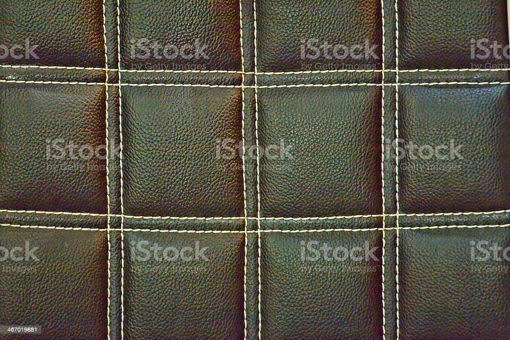 leather seat royalty-free stock photo