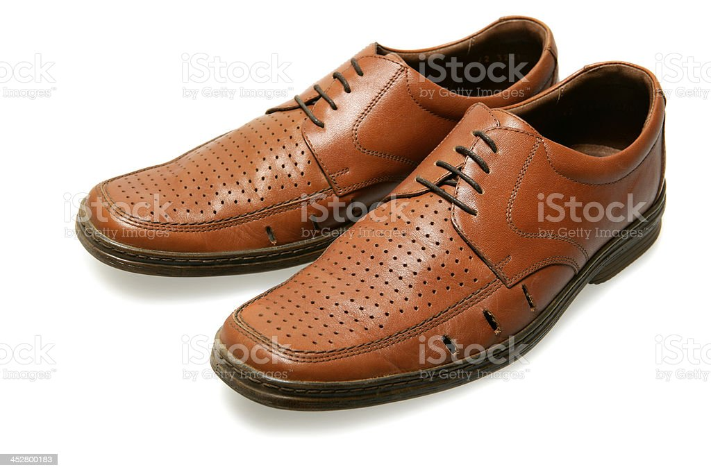 Leather Shoes royalty-free stock photo