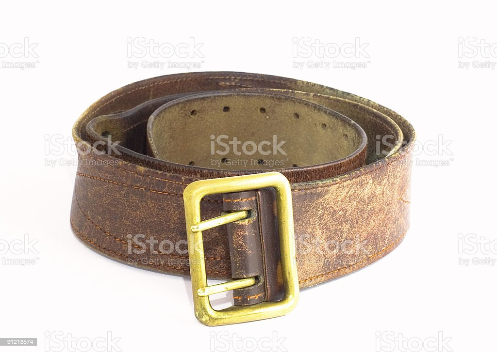 leather strap royalty-free stock photo
