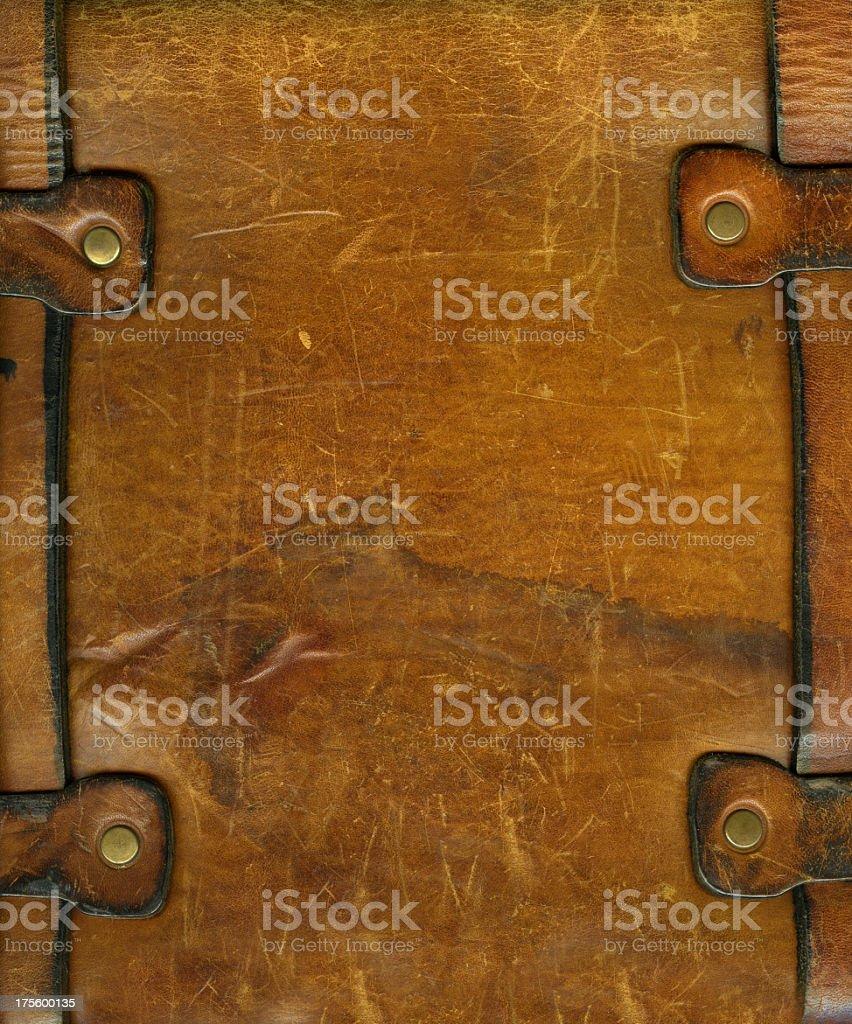 XXL Leather Straps stock photo