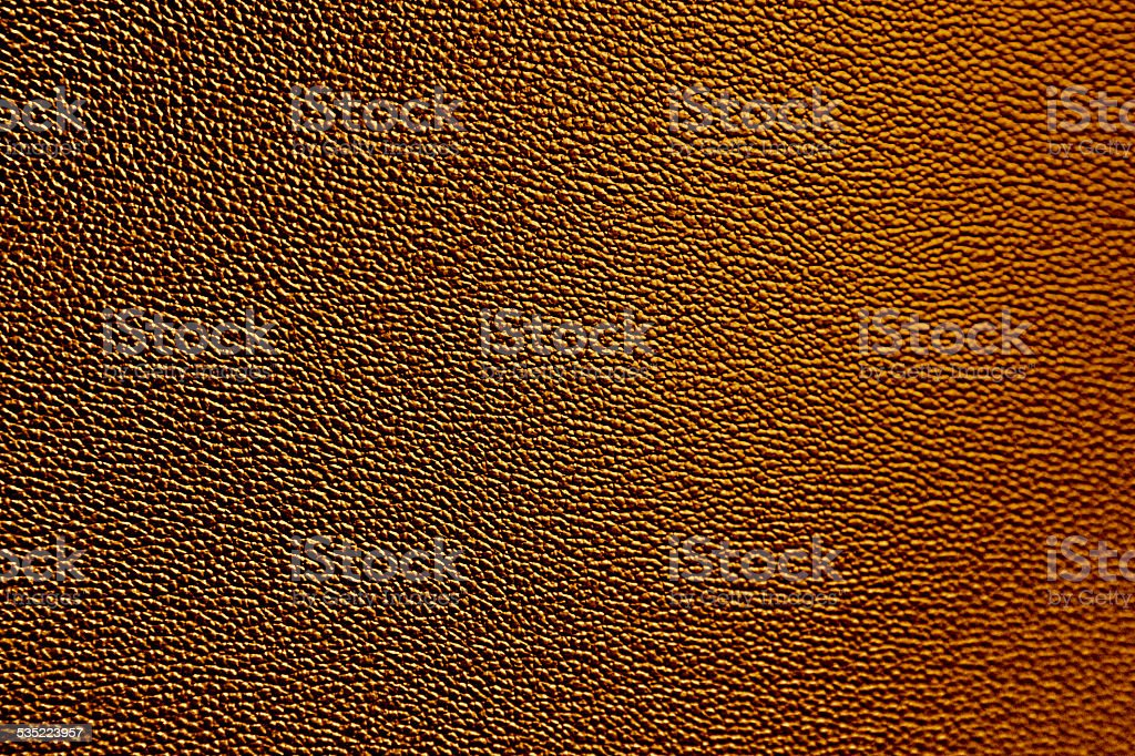 Leather Texture Dinosaur Skin Reptile Hide Pattern Orange Background stock photo