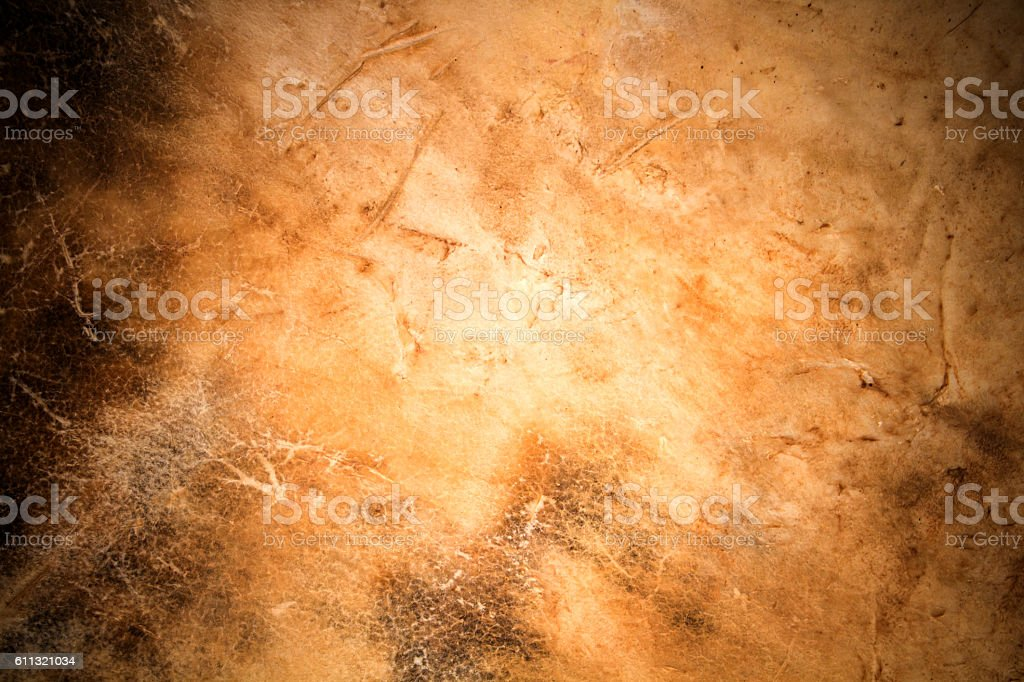 leather texture with vignette stock photo
