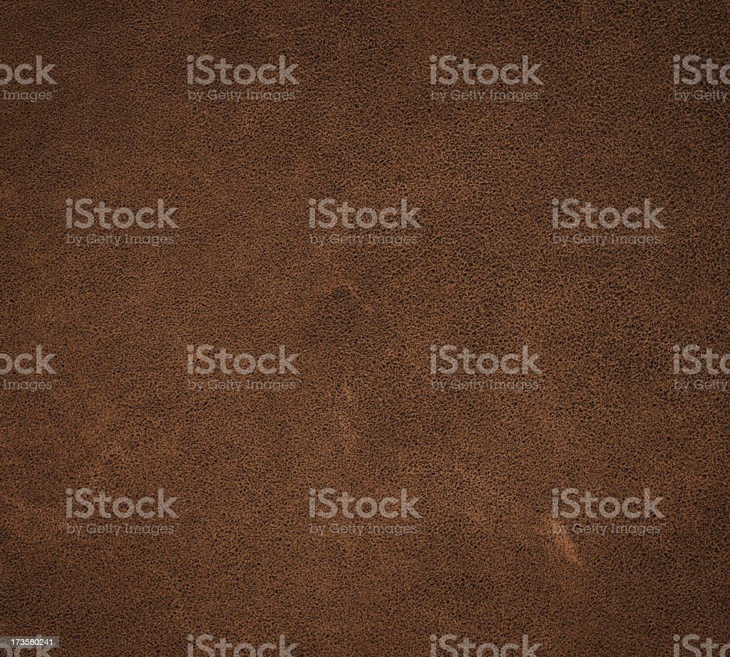 High resolution leather with slight distress marks stock photo