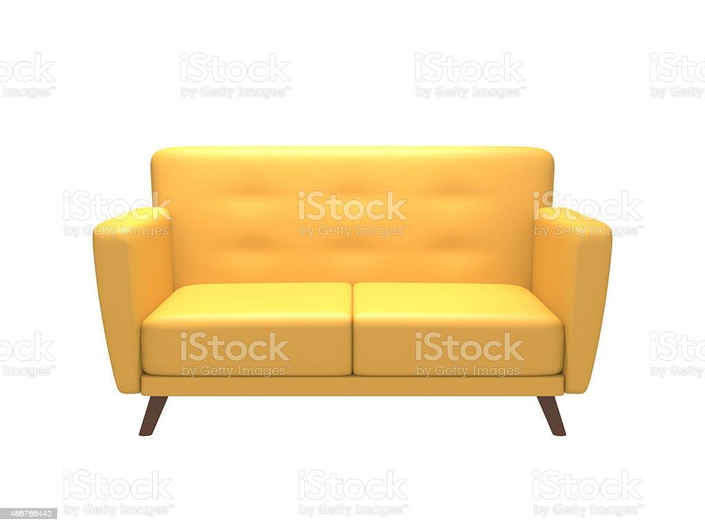 Leather?Sofa stock photo