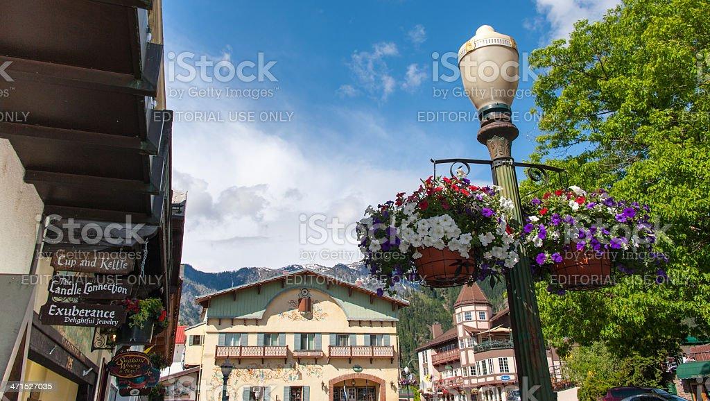 Leavenworth stock photo