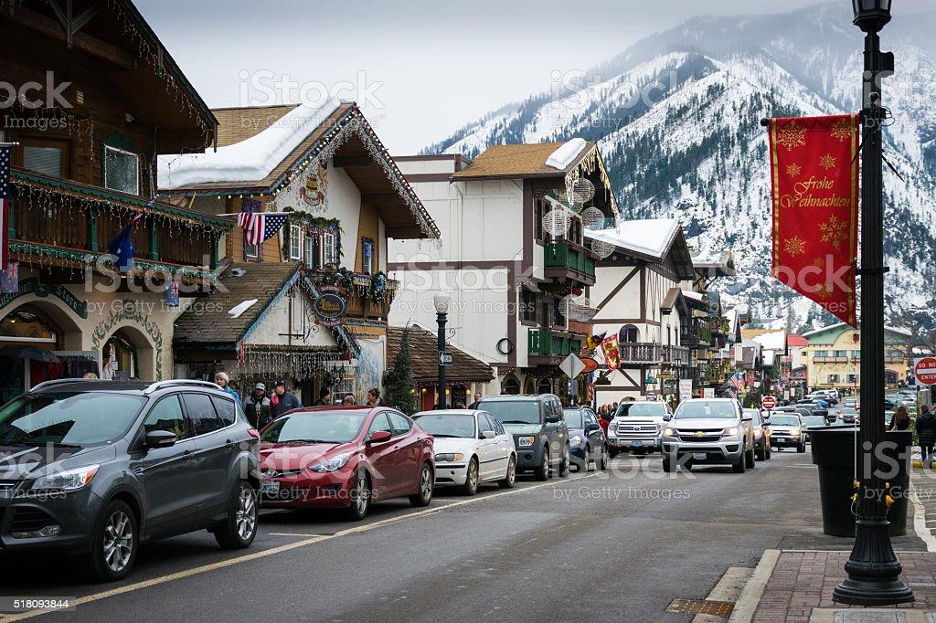 Leavenworth, WA stock photo