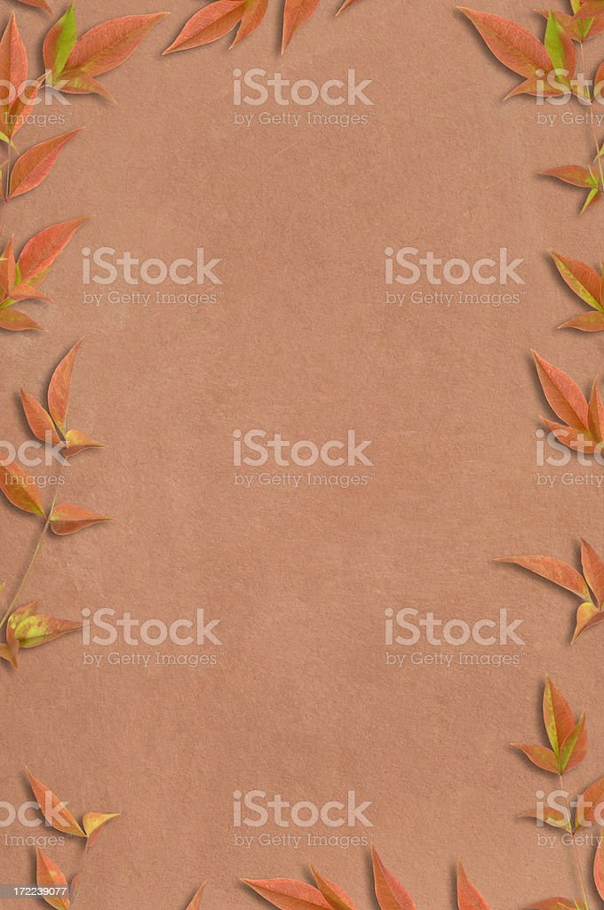 Leaves and Clay royalty-free stock photo