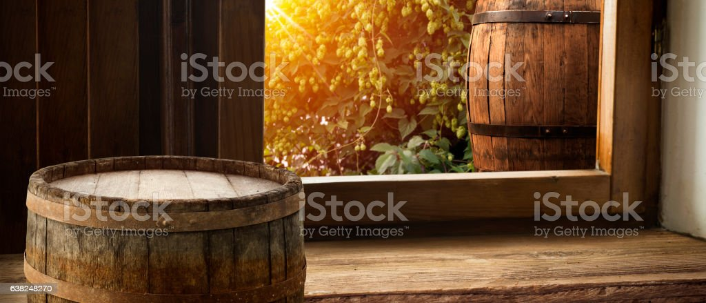 leaves desk and table of free space stock photo
