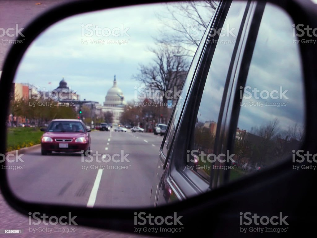 Leaving DC stock photo