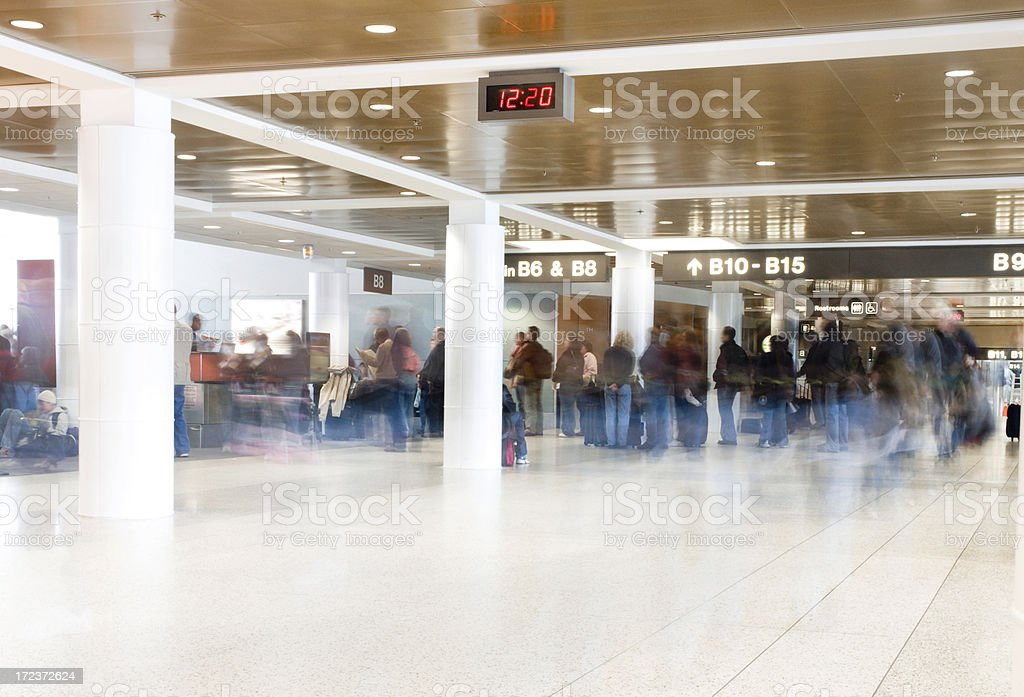 Leaving on a Jetplane stock photo