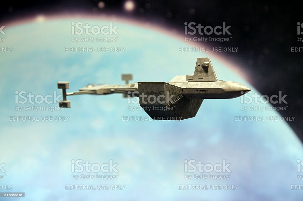 Leaving Orbit stock photo