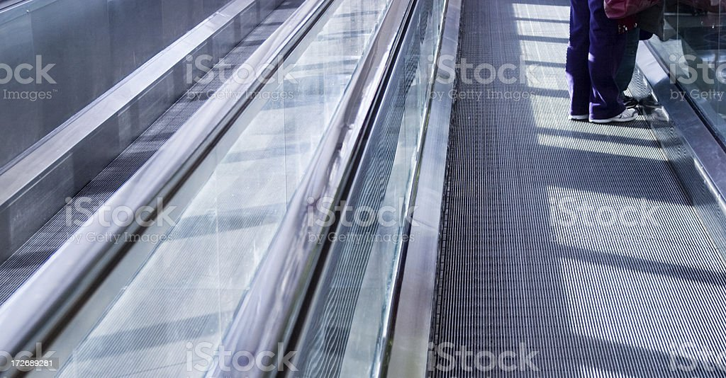 Leaving royalty-free stock photo
