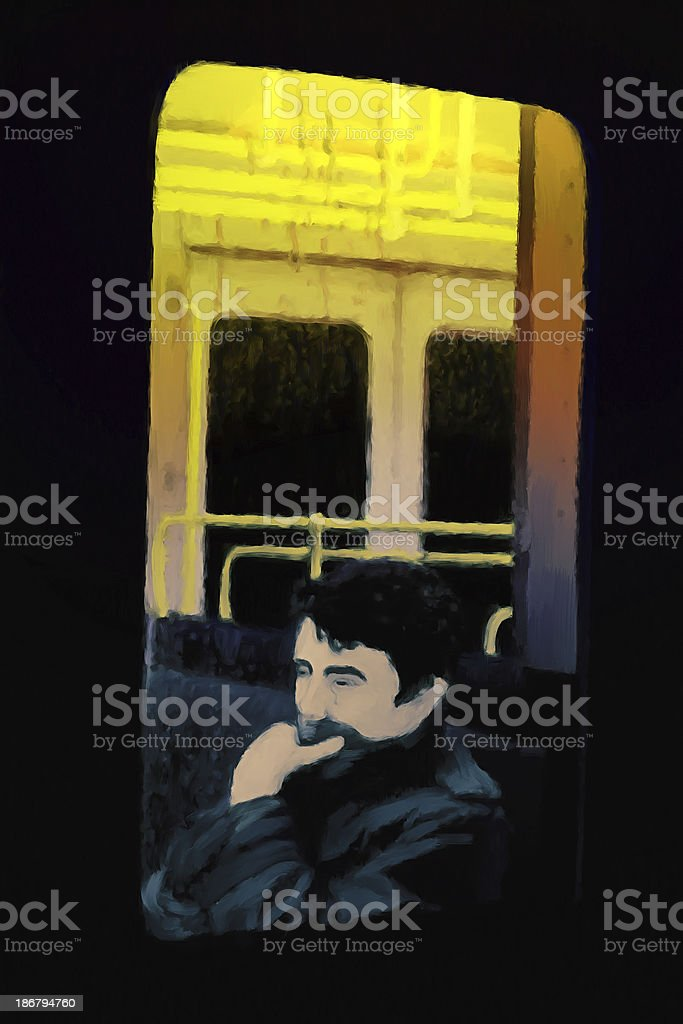 Leaving. royalty-free stock photo