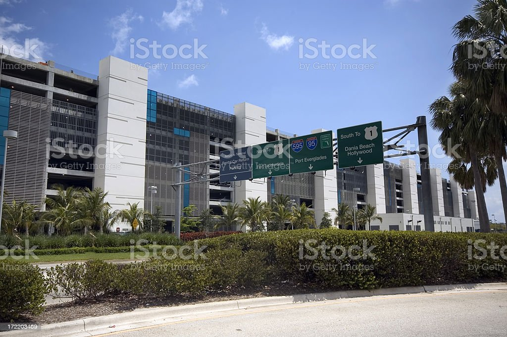 Leaving the AIrport royalty-free stock photo