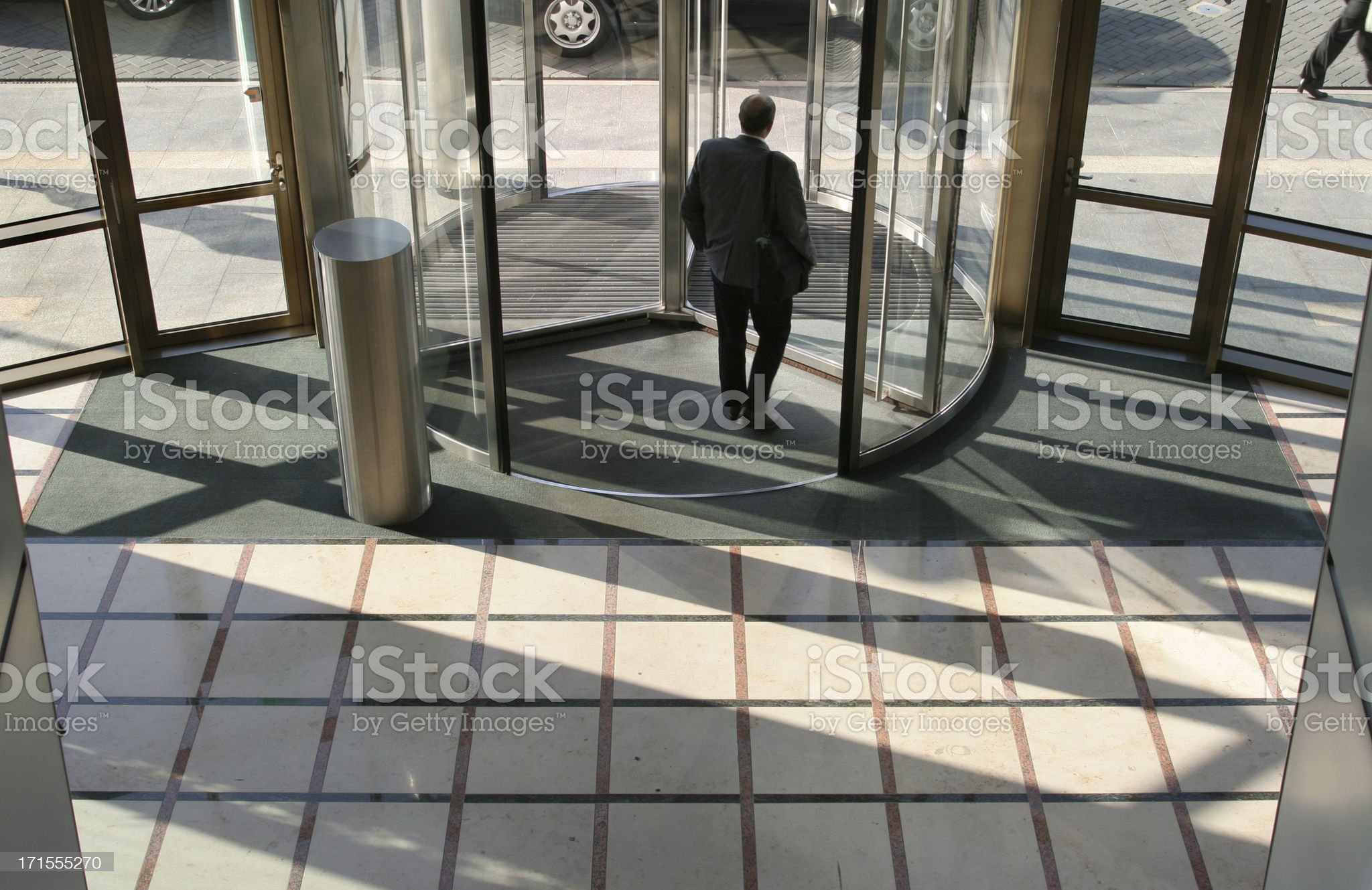 Leaving the Office royalty-free stock photo