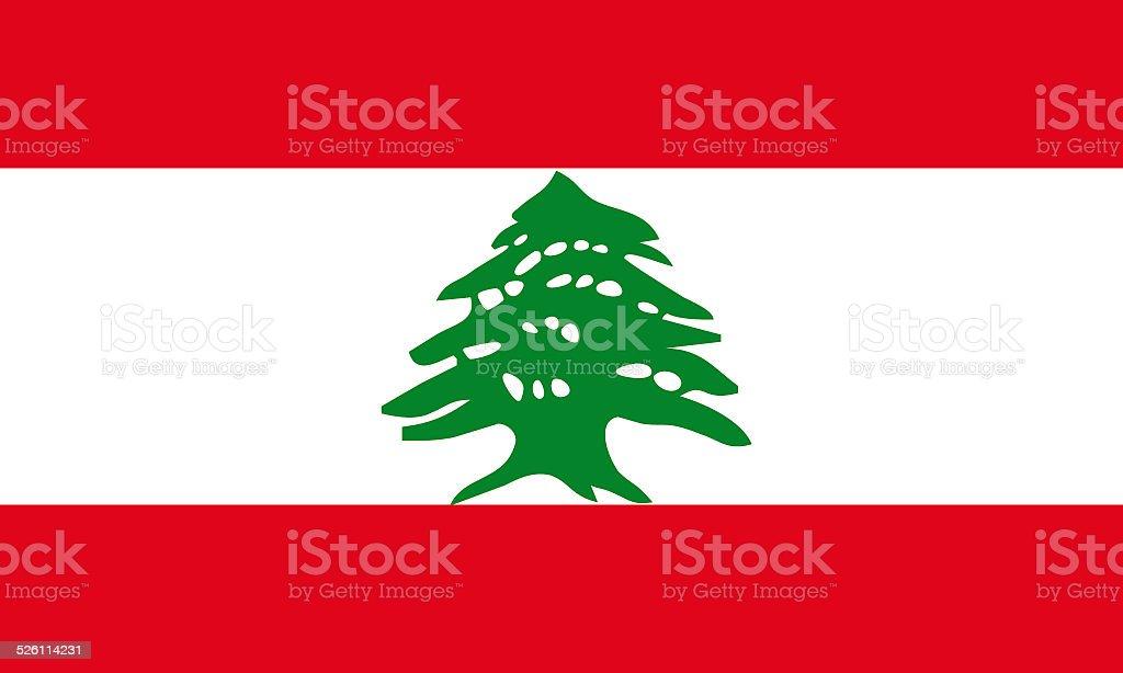 lebanon flag stock photo
