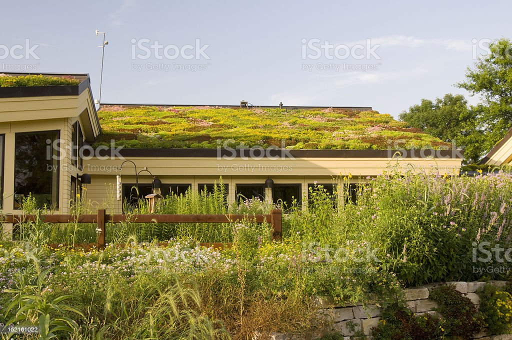 Lebanon Hills Visitor Center and Gardens royalty-free stock photo