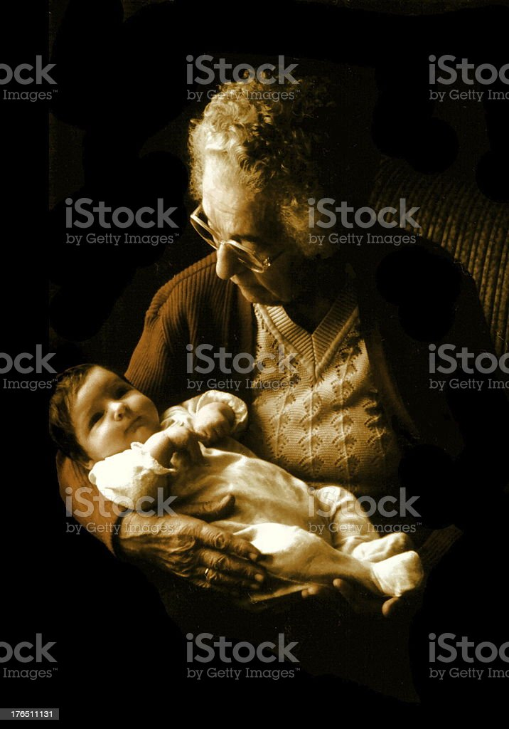 leben und Tod  zwei- birth and death two royalty-free stock photo