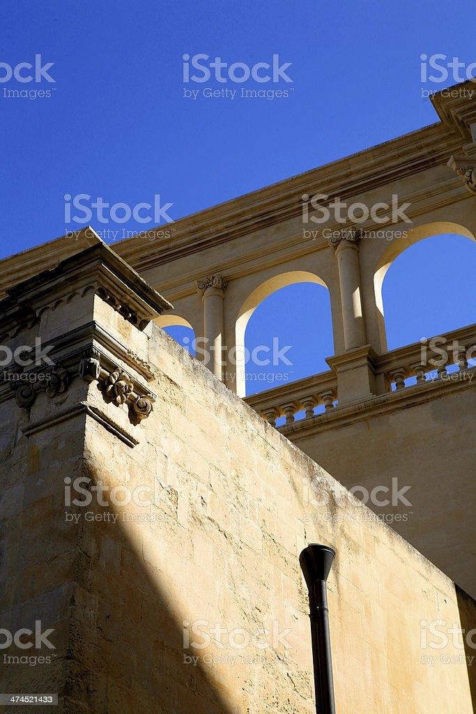 lecce stock photo