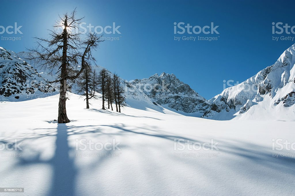 Lechtaler Alps Austria stock photo