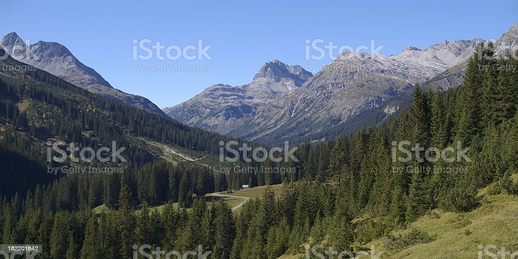 Lechtaler Alpen stock photo