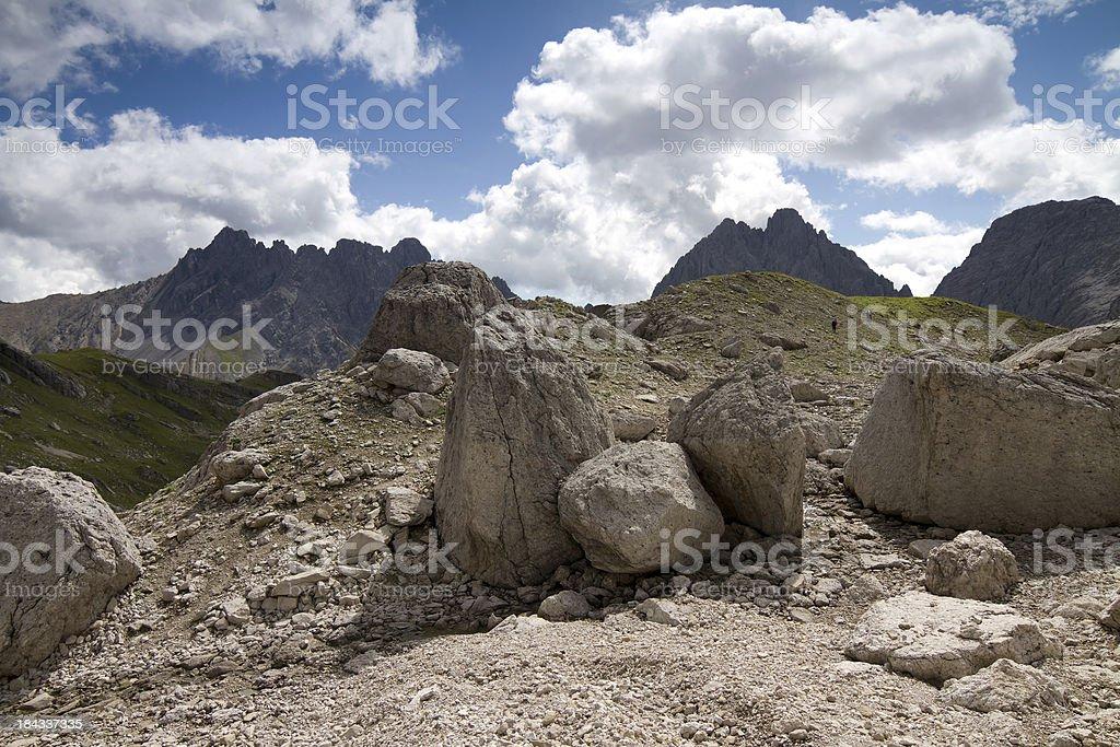 Lechtal Alps royalty-free stock photo