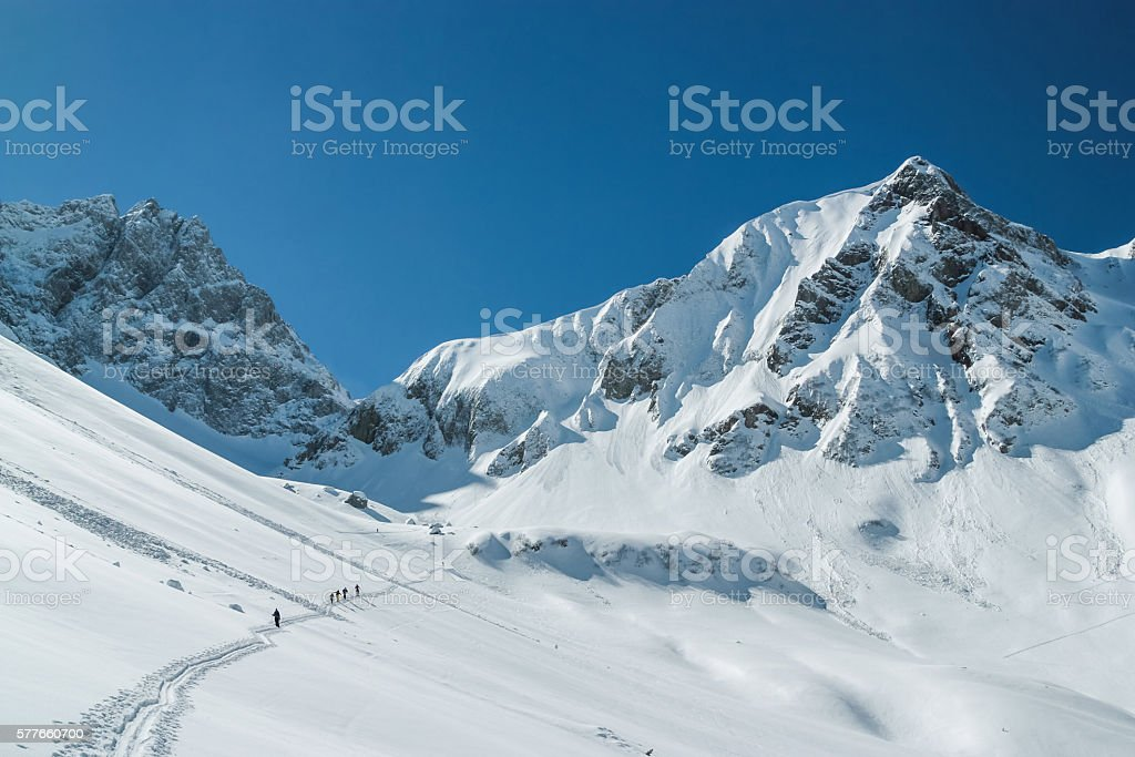 Lechtaler Alps, Austria stock photo