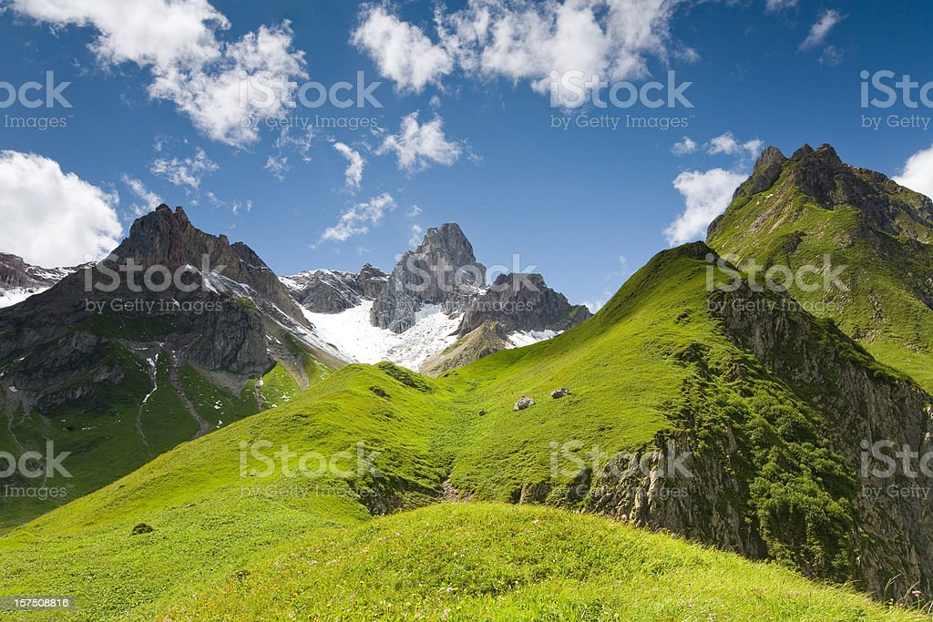 lechtaler wetterspitz royalty-free stock photo