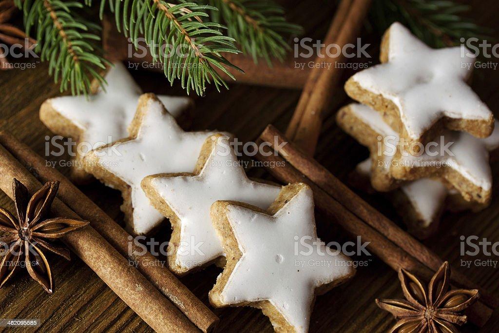 leckere weihnachtspl?tzchen stock photo