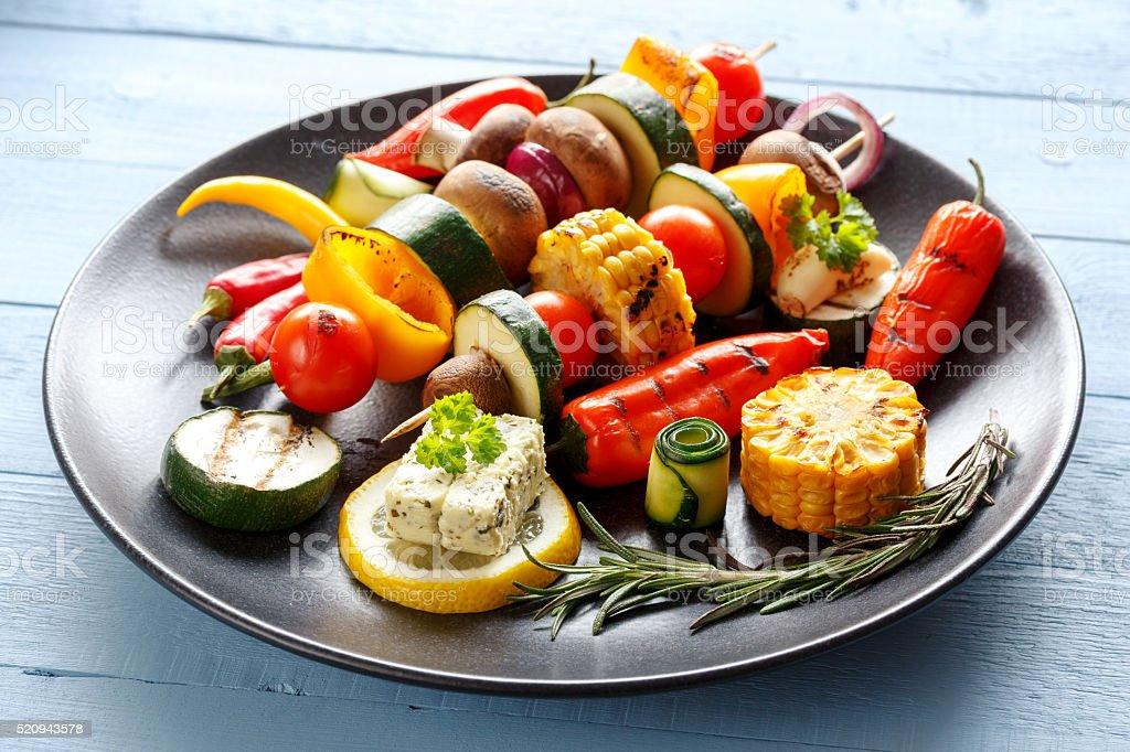 leckeres Grillgemüse stock photo