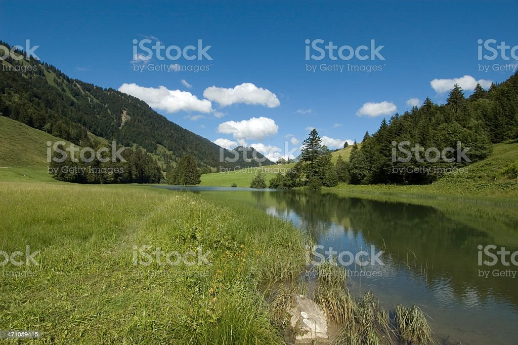 Leckner Lake stock photo