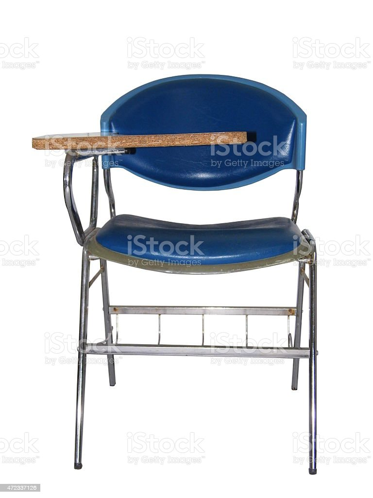 Lecture chair stock photo