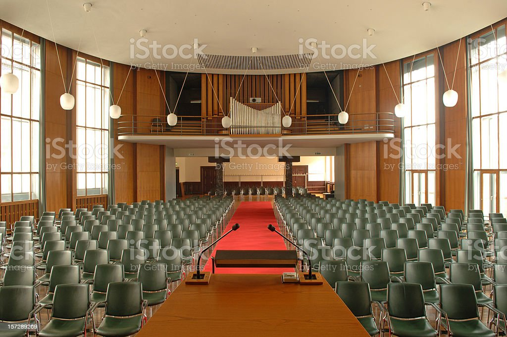 Lecture hall #4 royalty-free stock photo