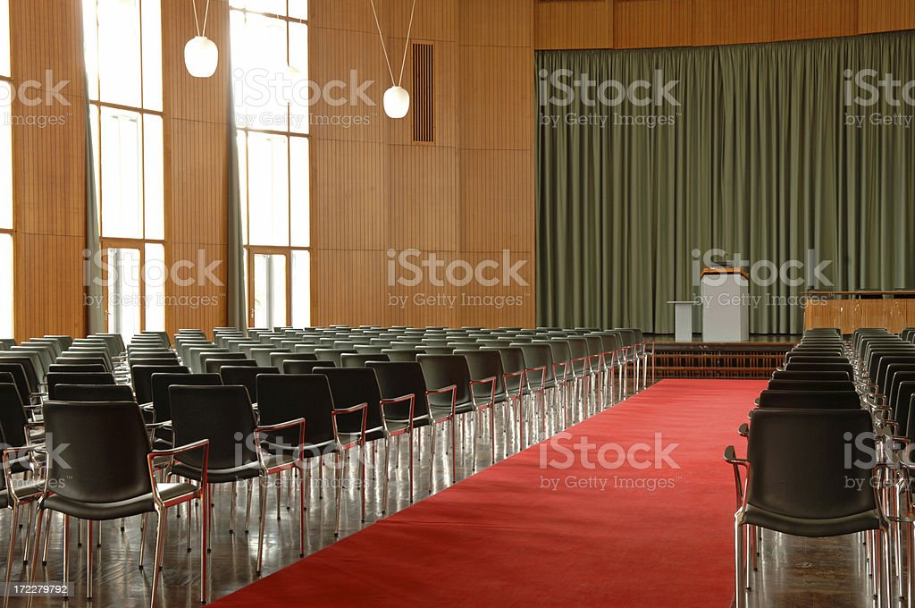Lecture hall #1 royalty-free stock photo