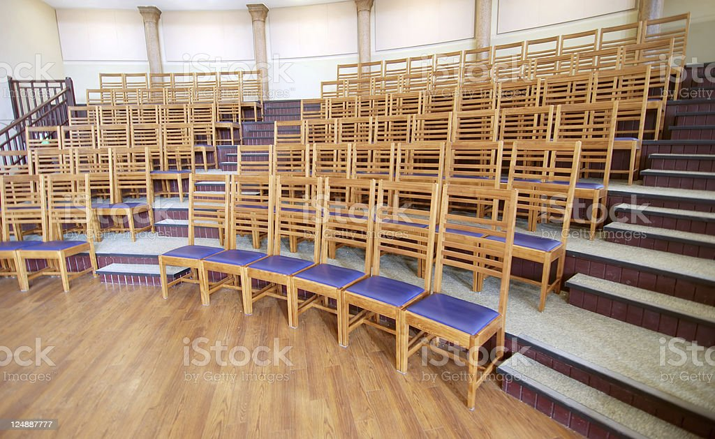 Lecture room theatre royalty-free stock photo
