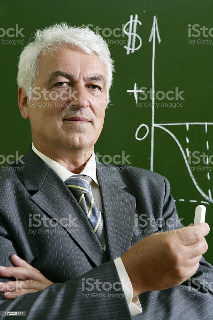 Lecturer royalty-free stock photo