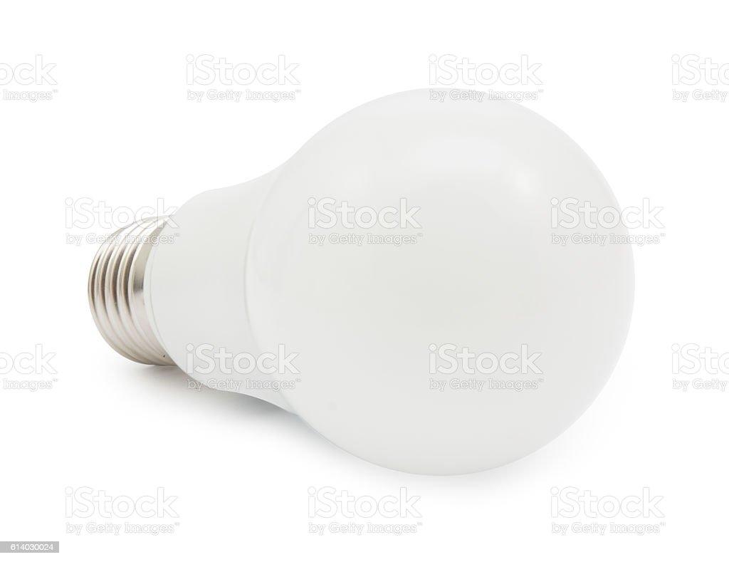 led energy saving light  isolated stock photo