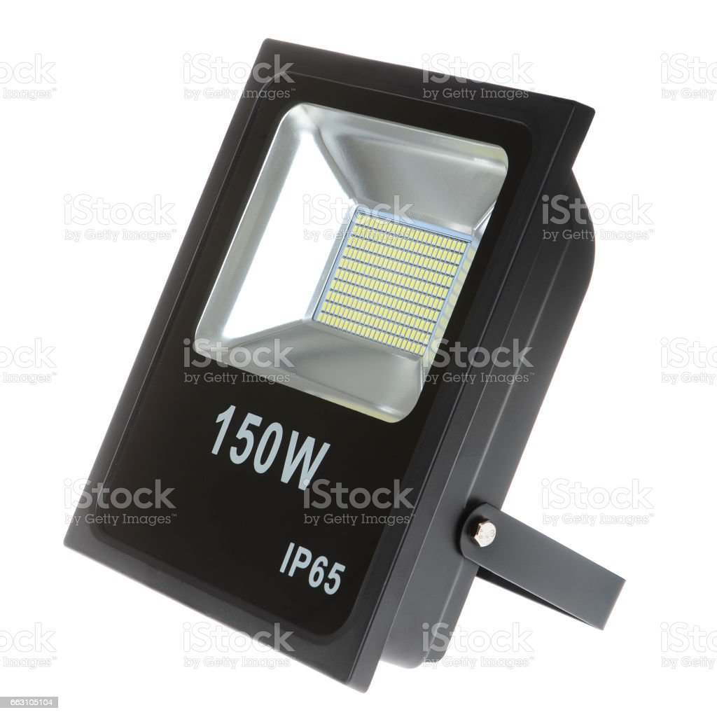 Led lamp isolated stock photo