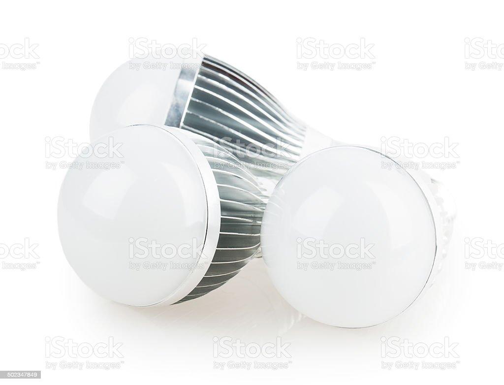 led lamp light bulb stock photo